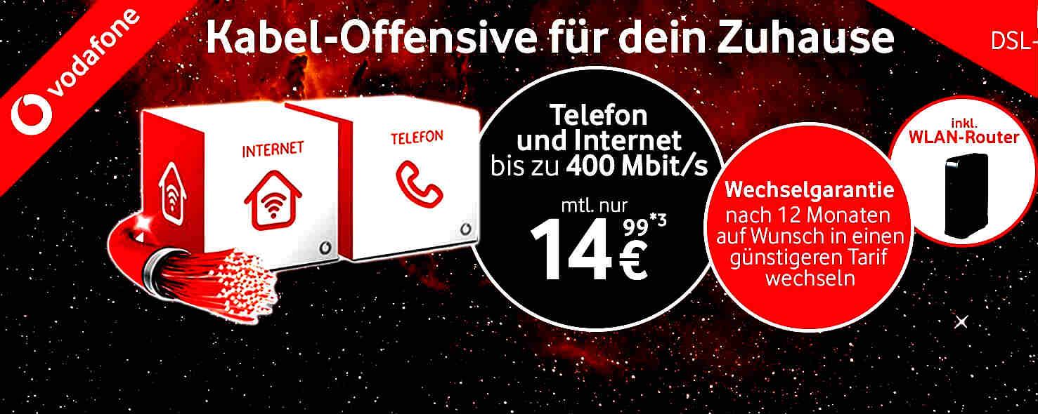Vodafone Kabel DSL