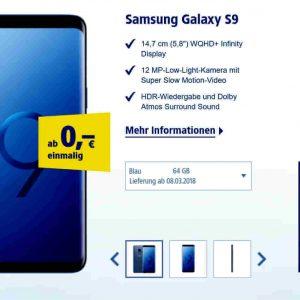 Samsung Galaxy S9 1und1